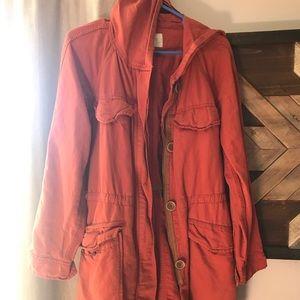 Loft trench jacket